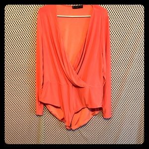 Fashion To Figure Coral Body Suit